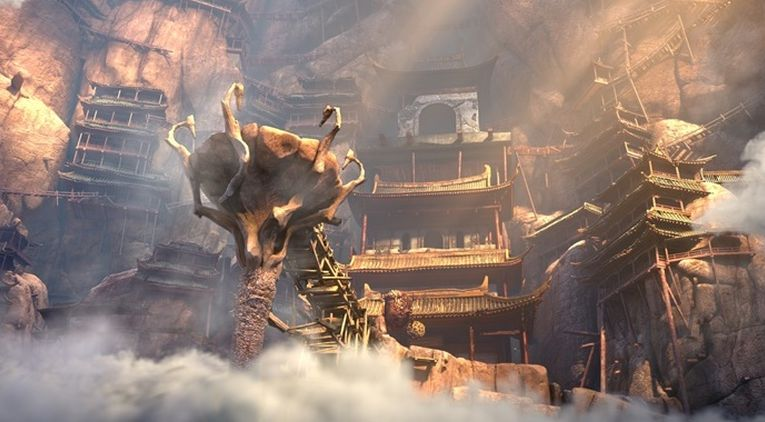 Monkey King: Hero Is Back, un'immagine tratta dal film animato