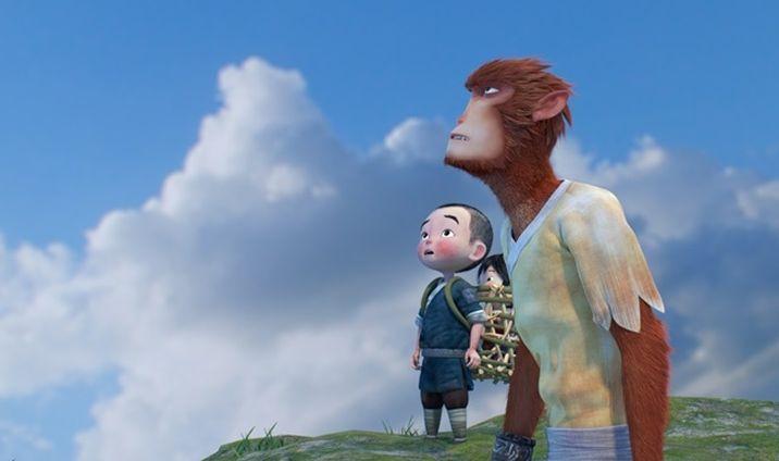 Monkey King: Hero Is Back, un'immagine tratta dal film d'animazione