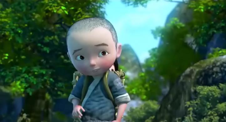 Monkey King: Hero Is Back, un'immagine del film d'animazione