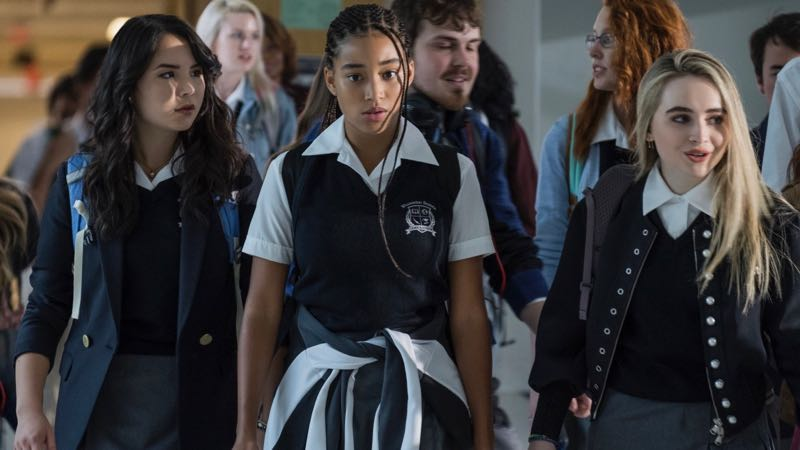 The Hate U Give: Amandla Stenberg in una scena corale