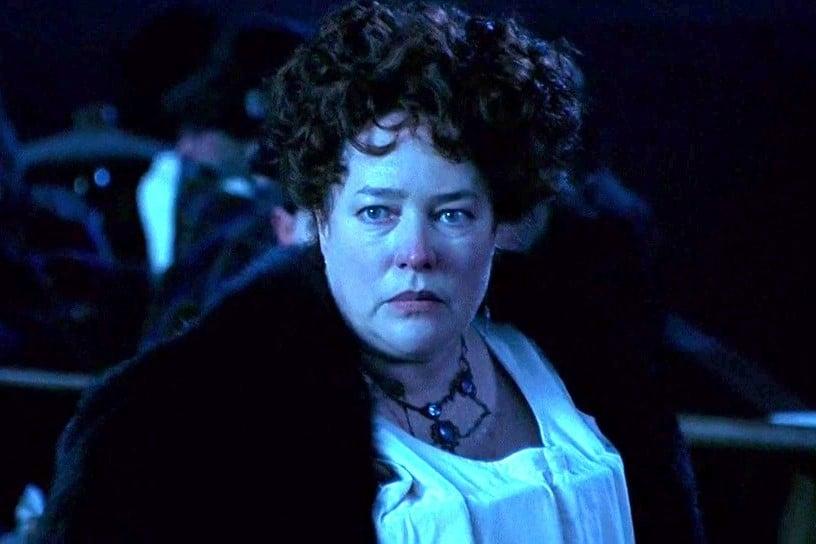 Titanic: Kathy Bates in una scena del film