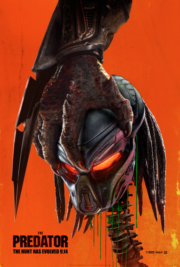 The Predator: un nuoco poster del film