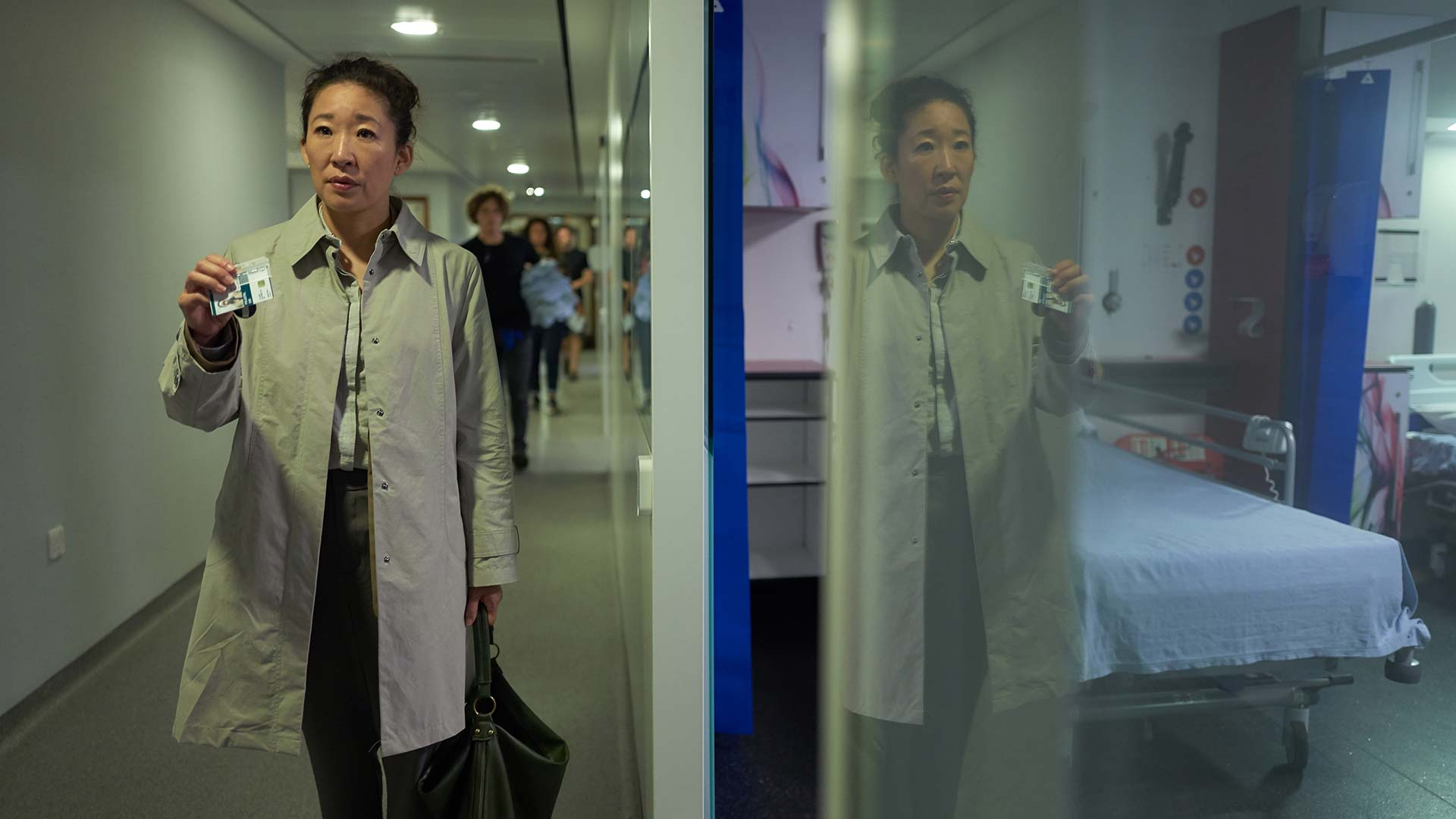 Killing Eve: Sandra Oh in una scena