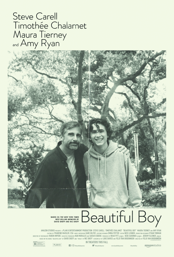 Beautiful Boy: il poster del film