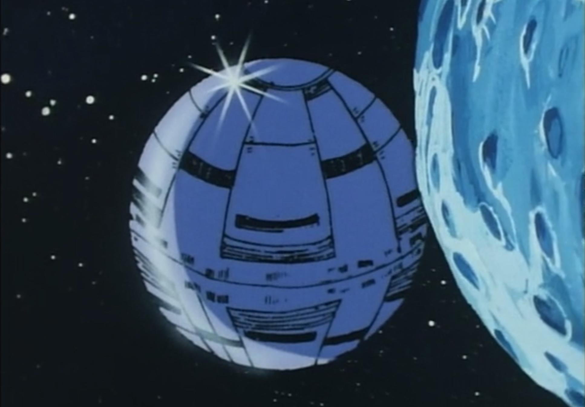 Daitarn 3: una scena ispirata a Star Wars