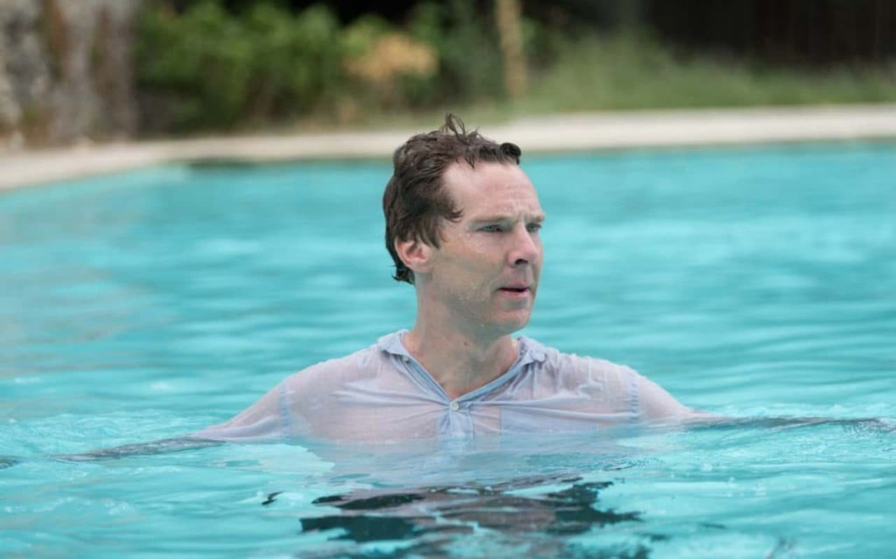 Patrick Melrose: Benedict Cumberbatch in una scena di Mother's Milk