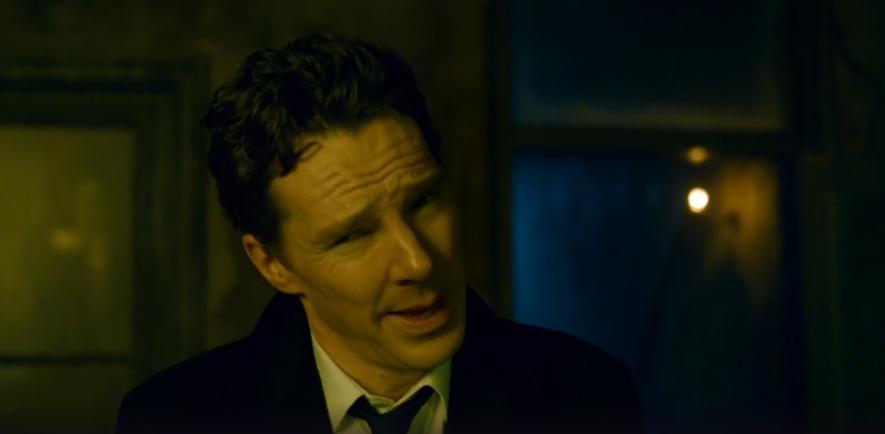 Patrick Melrose: Benedict Cumberbatch in una scena di Bad News