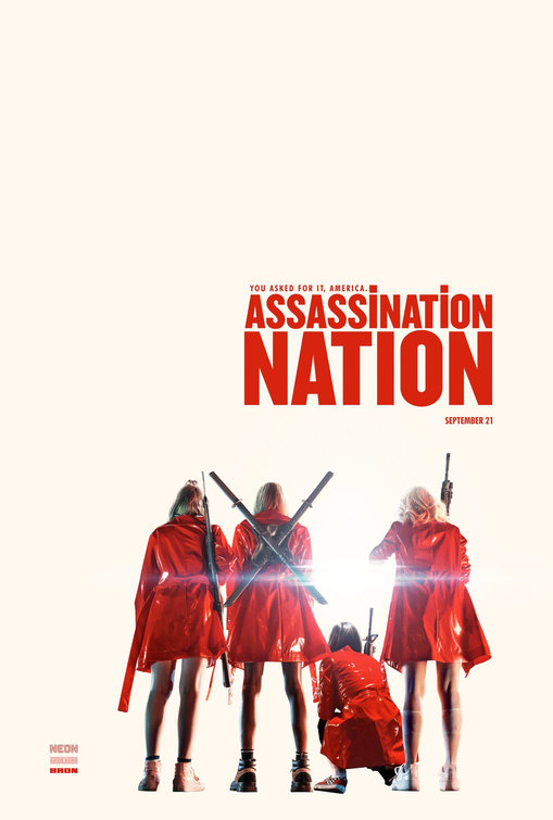 Assassination Nation: la locandina del film