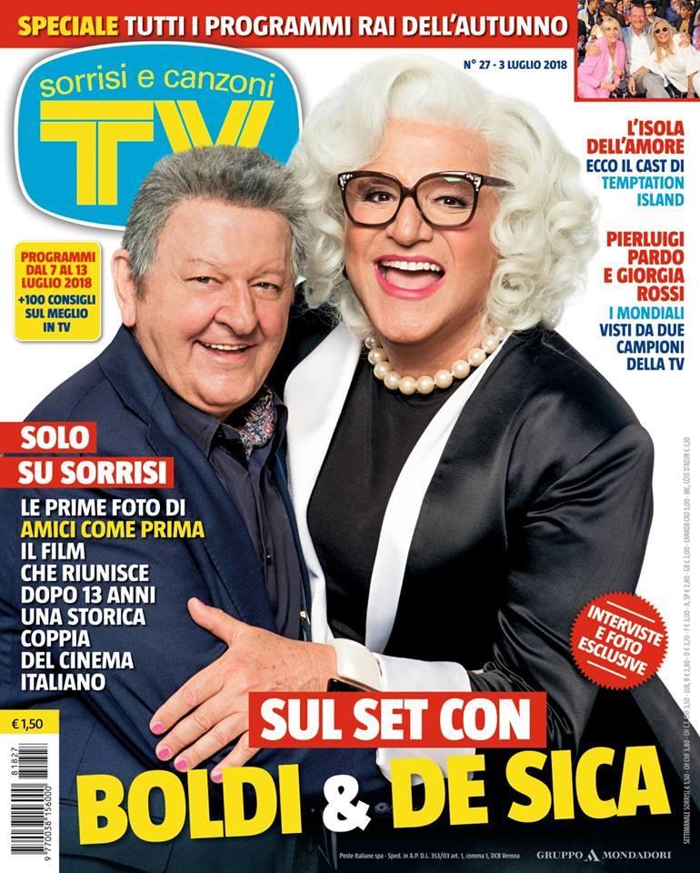 Amici Come Prima: la copertina di Tv Sorrisi e Canzoni