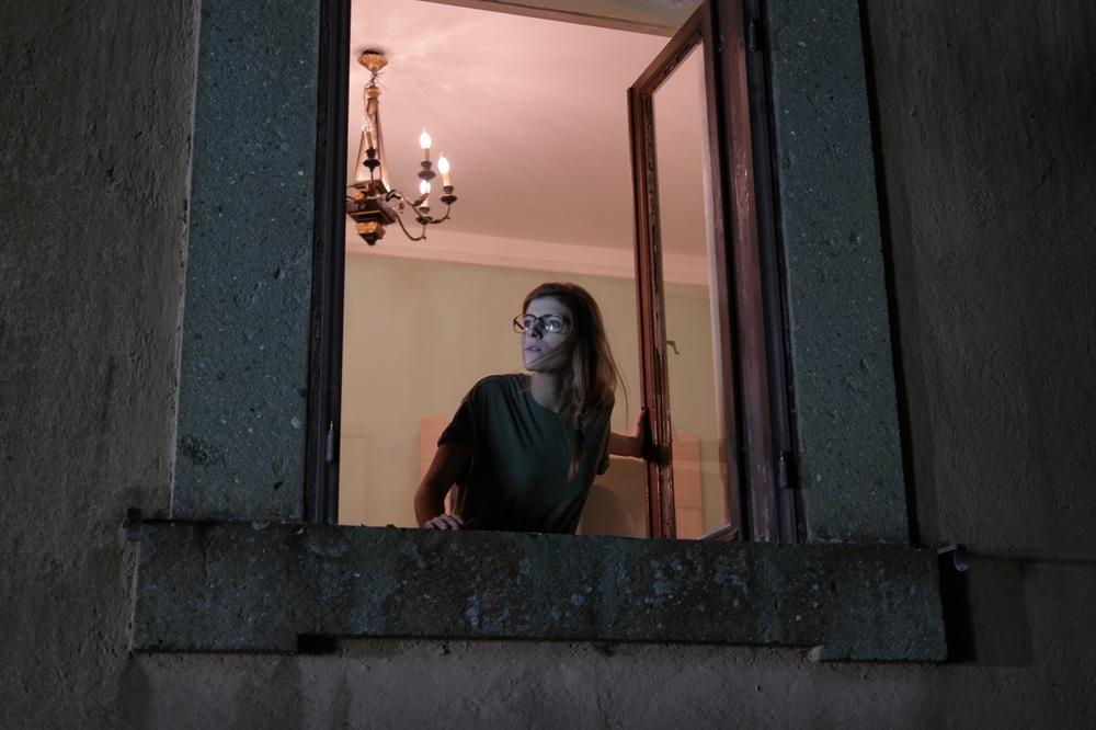 Tafanos: Maria Chiara Giannetta in una scena del film