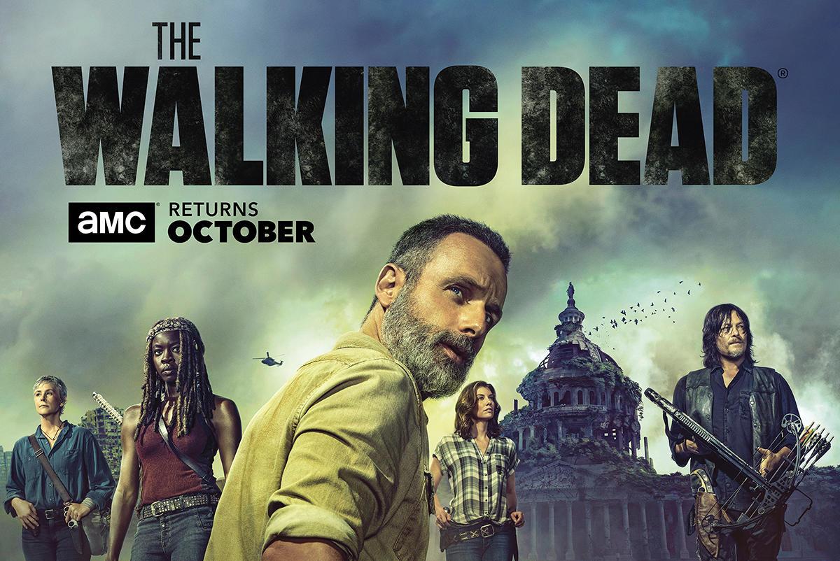 The Walking Dead: un banner della nona stagione