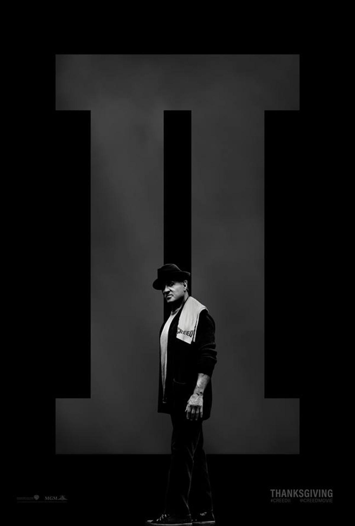 Creed II: il poster dedicato al personaggio di Sylvester Stallone