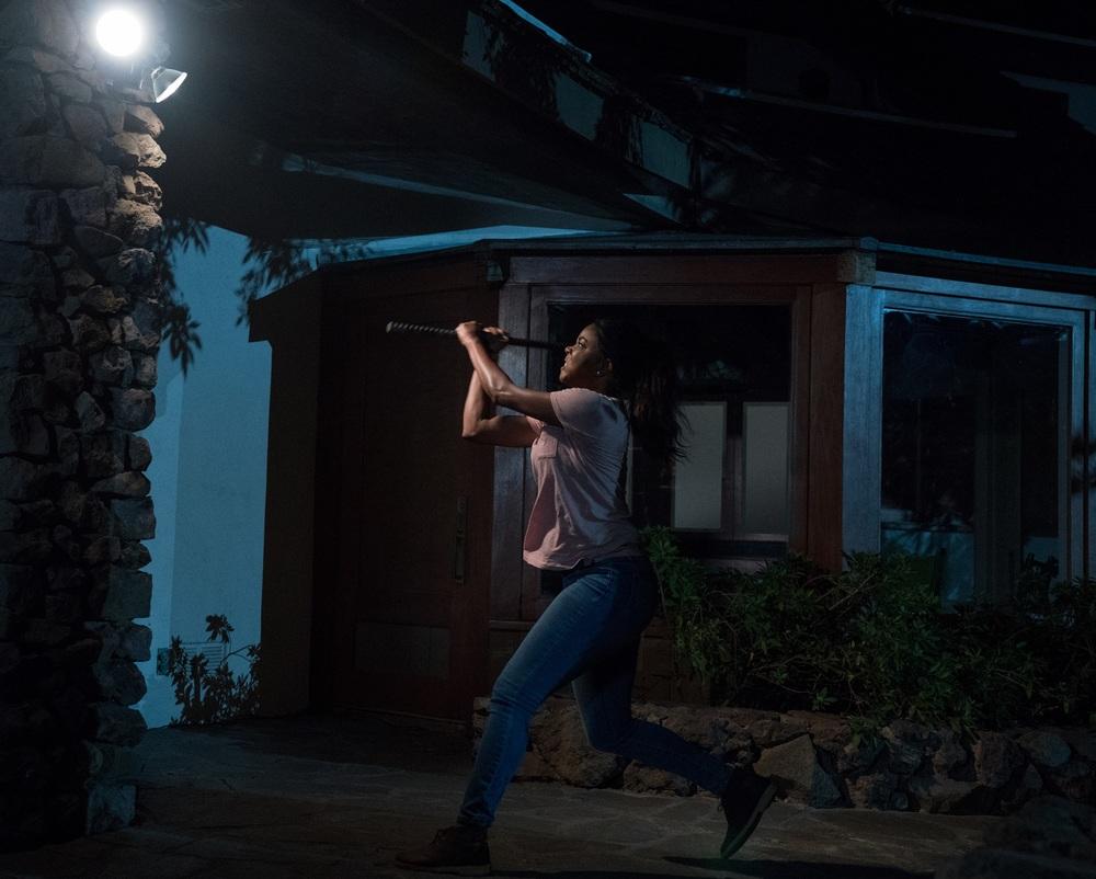 Breaking In: Gabrielle Union in un momento del film