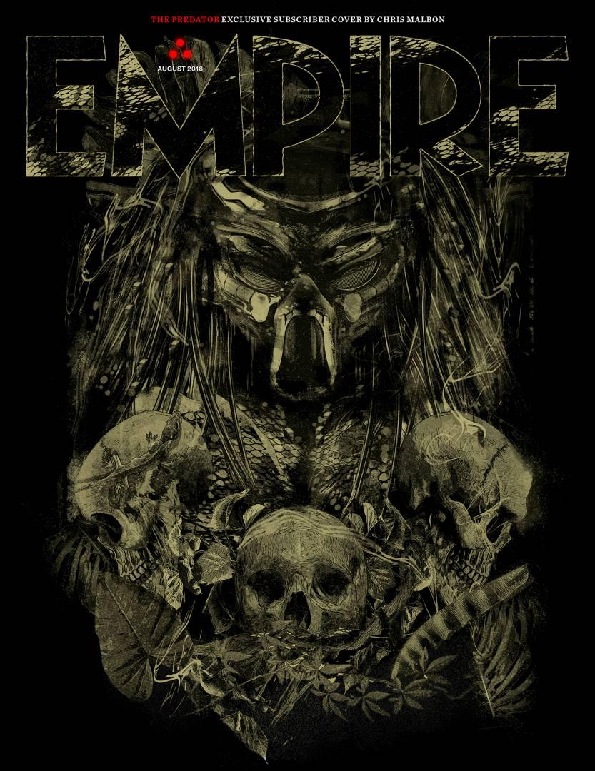 Predator: la copertina di Empire dedicata al film