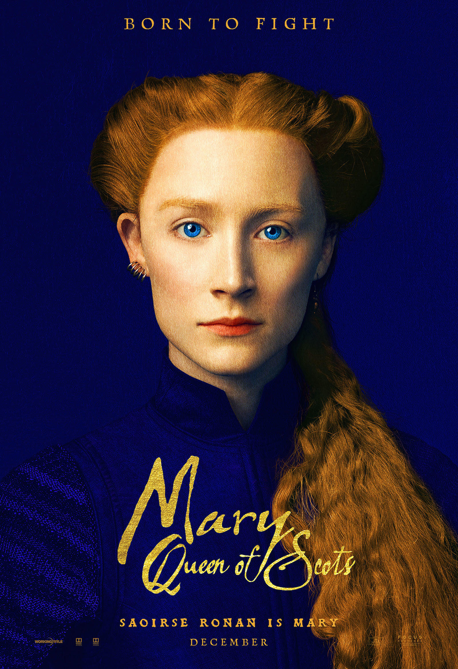 Mary Queen of Scots: il character poster di Saoirse Ronan