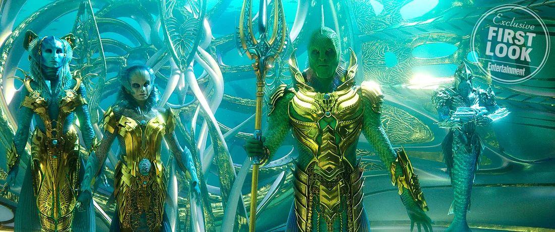 Aquaman: una nuova foto del film