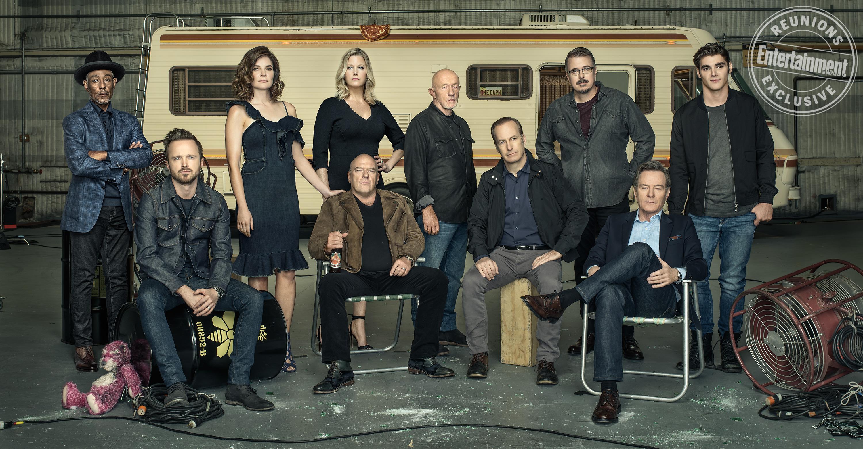 Breaking Bad: il cast alla reunion del decennale