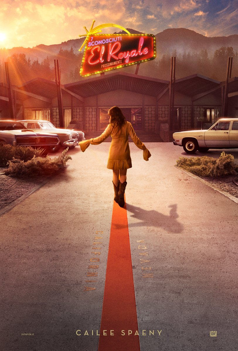 Bad Times at the El Royale: il character poster di Cailee Spaeny