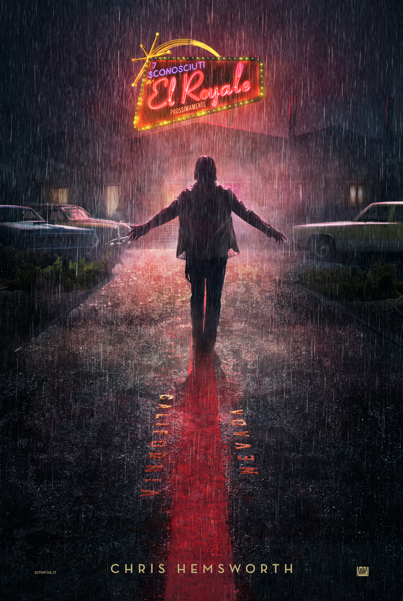 Bad Times at the El Royale: il character poster di Chris Hemsworth