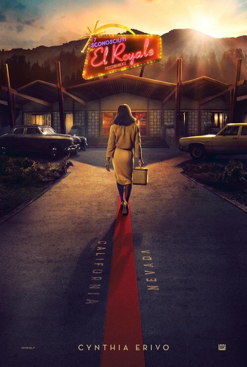 Bad Times at the El Royale: il character poster di Cynthia Erivo