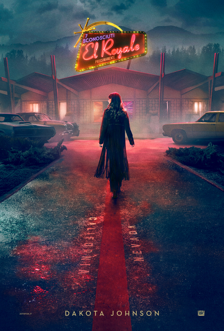 Bad Times at the El Royale: il character poster di Dakota Johnson