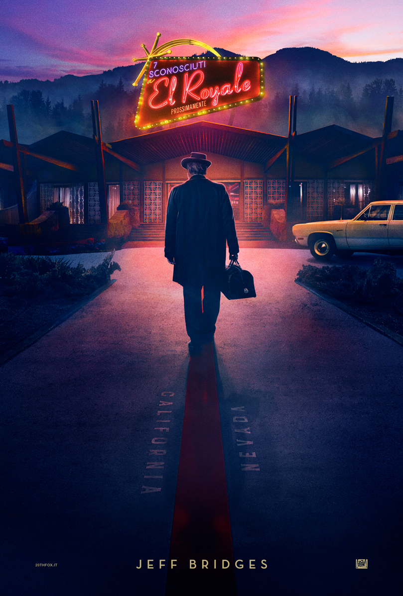 Bad Times at the El Royale: il character poster di Jeff Bridges