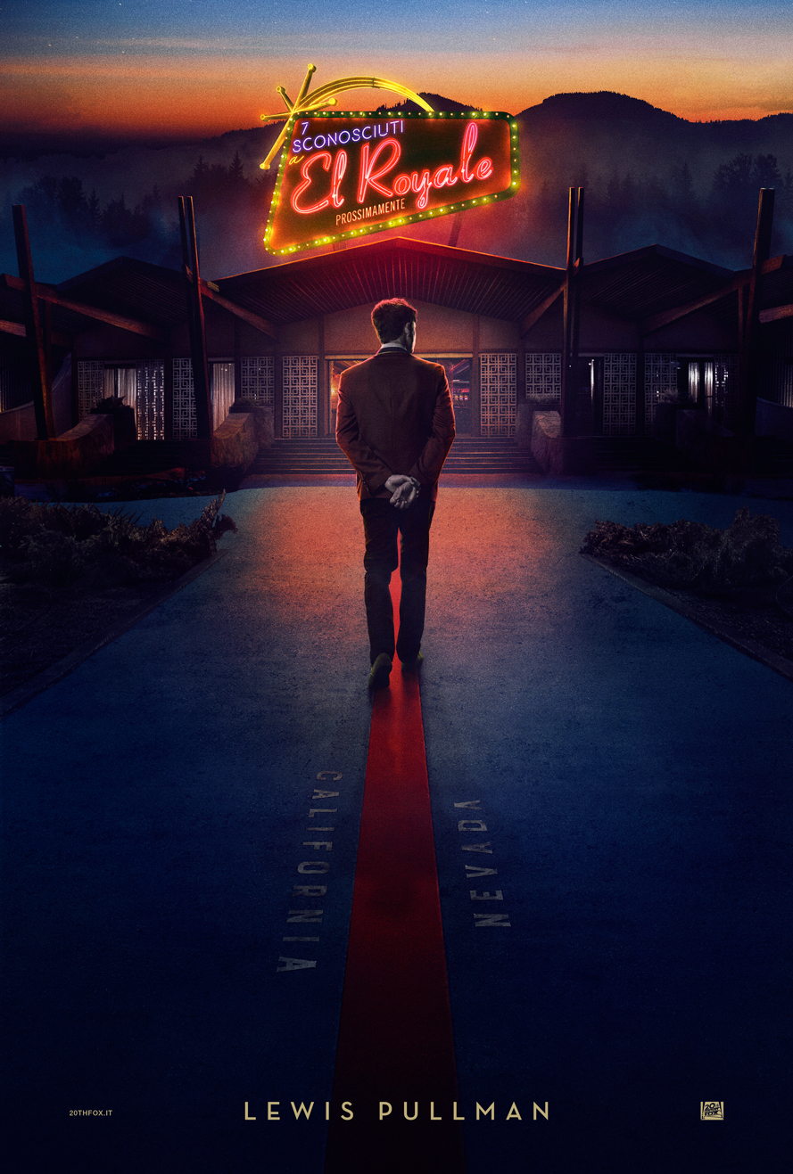 Bad Times at the El Royale: il character poster di Lewis Pullman