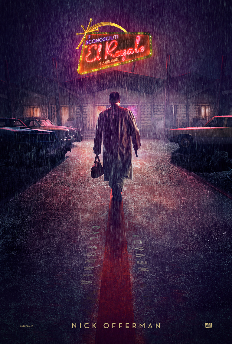Bad Times at the El Royale: il character poster di Nick Offerman