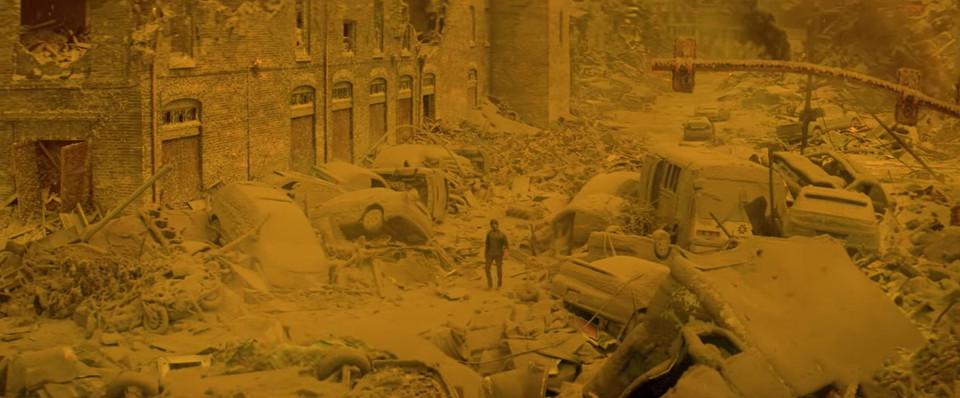 La fine: una suggestiva immagine del film