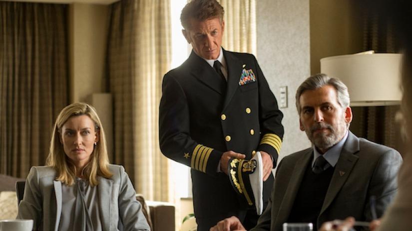 The First: Sean Penn e Natascha McElhone in una scena