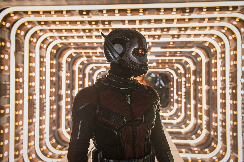 Ant-Man and the Wasp: Paul Rudd in una scena del film