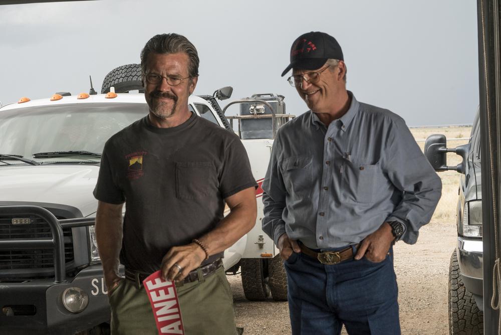 Fire Squad - Incubo di fuoco: Josh Brolin e Jeff Bridges in una scena del film