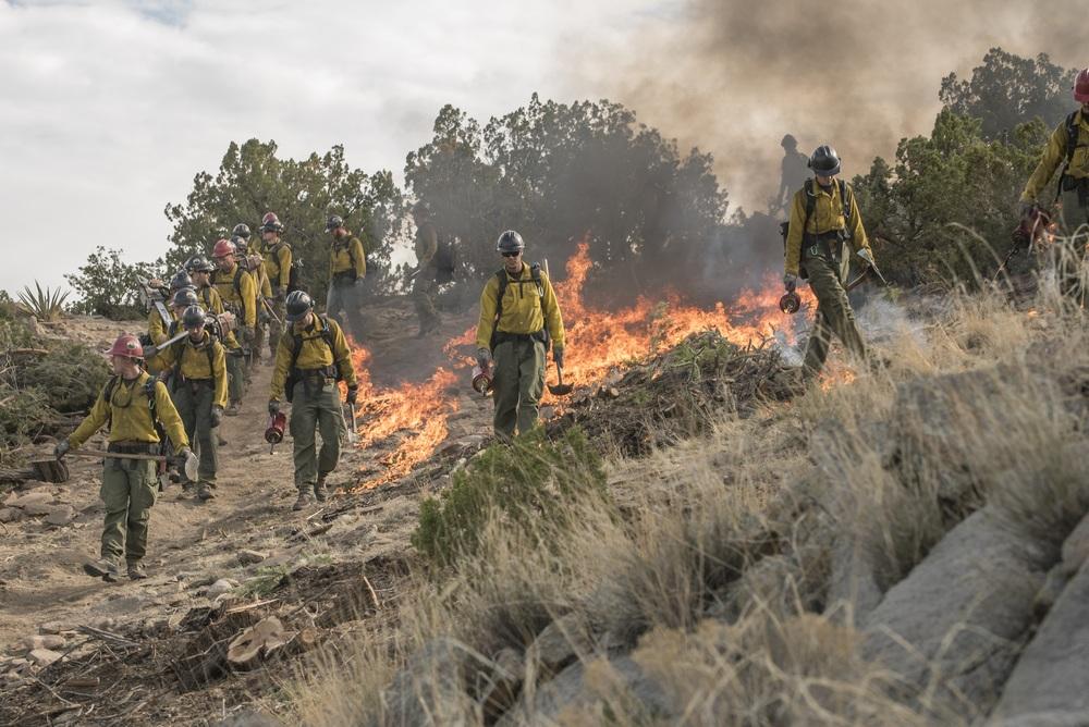 Fire Squad - Incubo di fuoco: una scena del film
