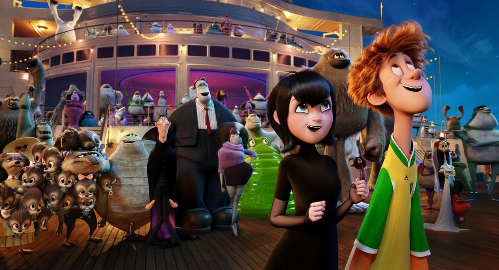 Hotel Transylvania 3 - Una vacanza mostruosa: un momento del film d'animazione