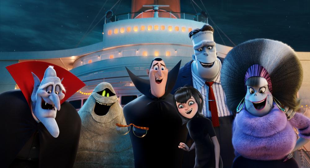 Hotel Transylvania 3 - Una vacanza mostruosa: un momento del film animato