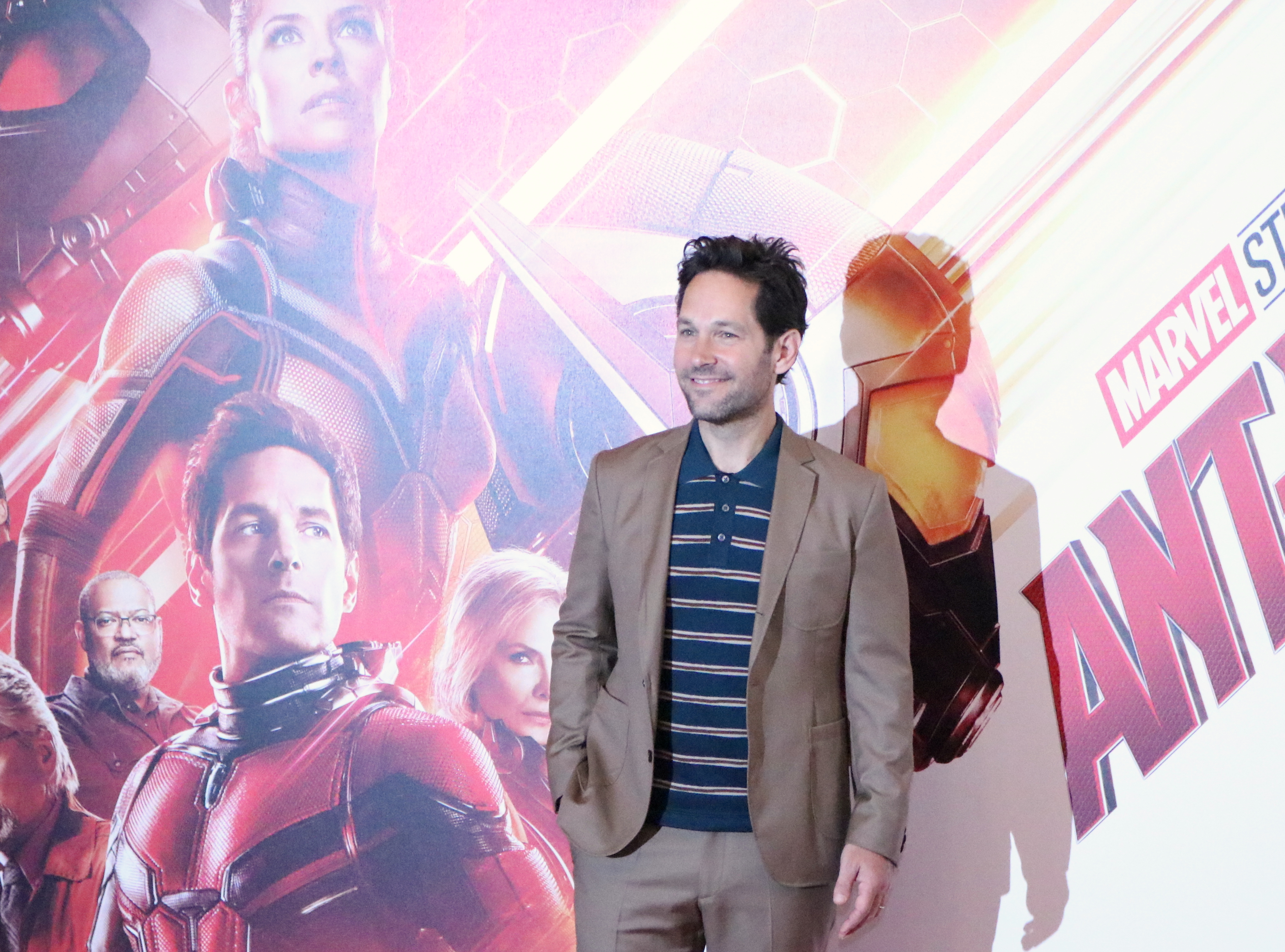 Ant-Man and the Wasp: Paul Rudd al photocall