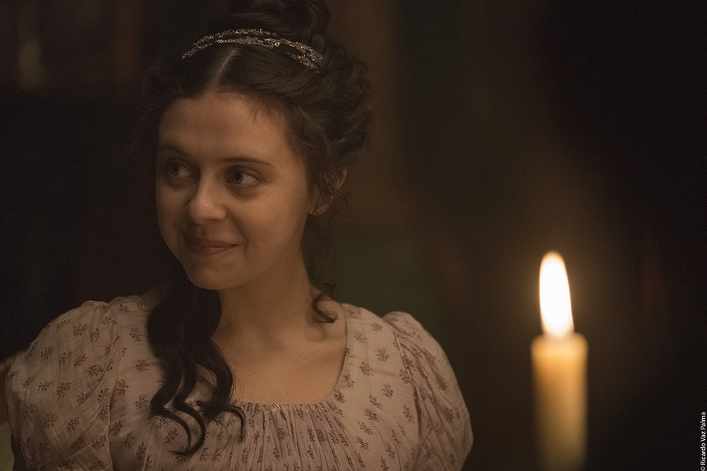 Mary Shelley - Un amore intramontabile: Bel Powley in una scena del film