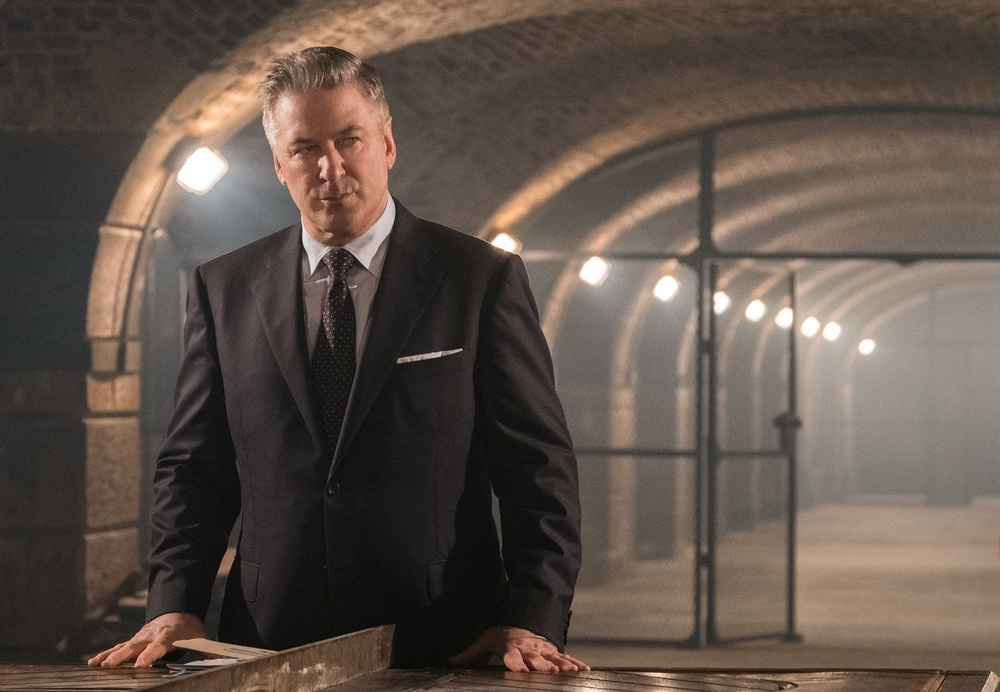 Mission: Impossible - Fallout: Alec Baldwin in una scena del film