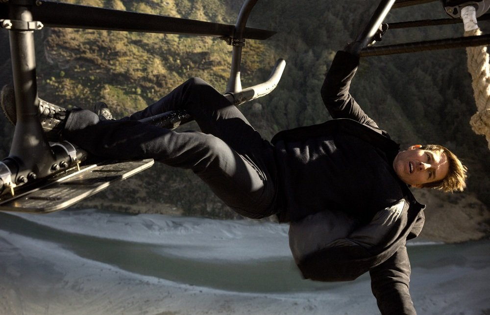 Mission: Impossible - Fallout: Tom Cruise in una scena del film