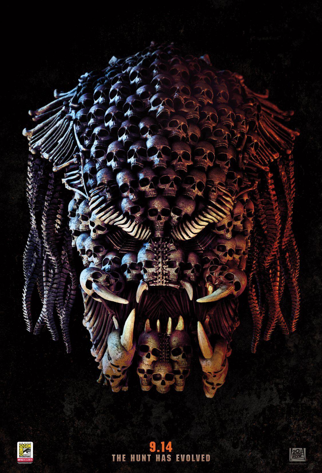 The Predator: un nuovo poster del film