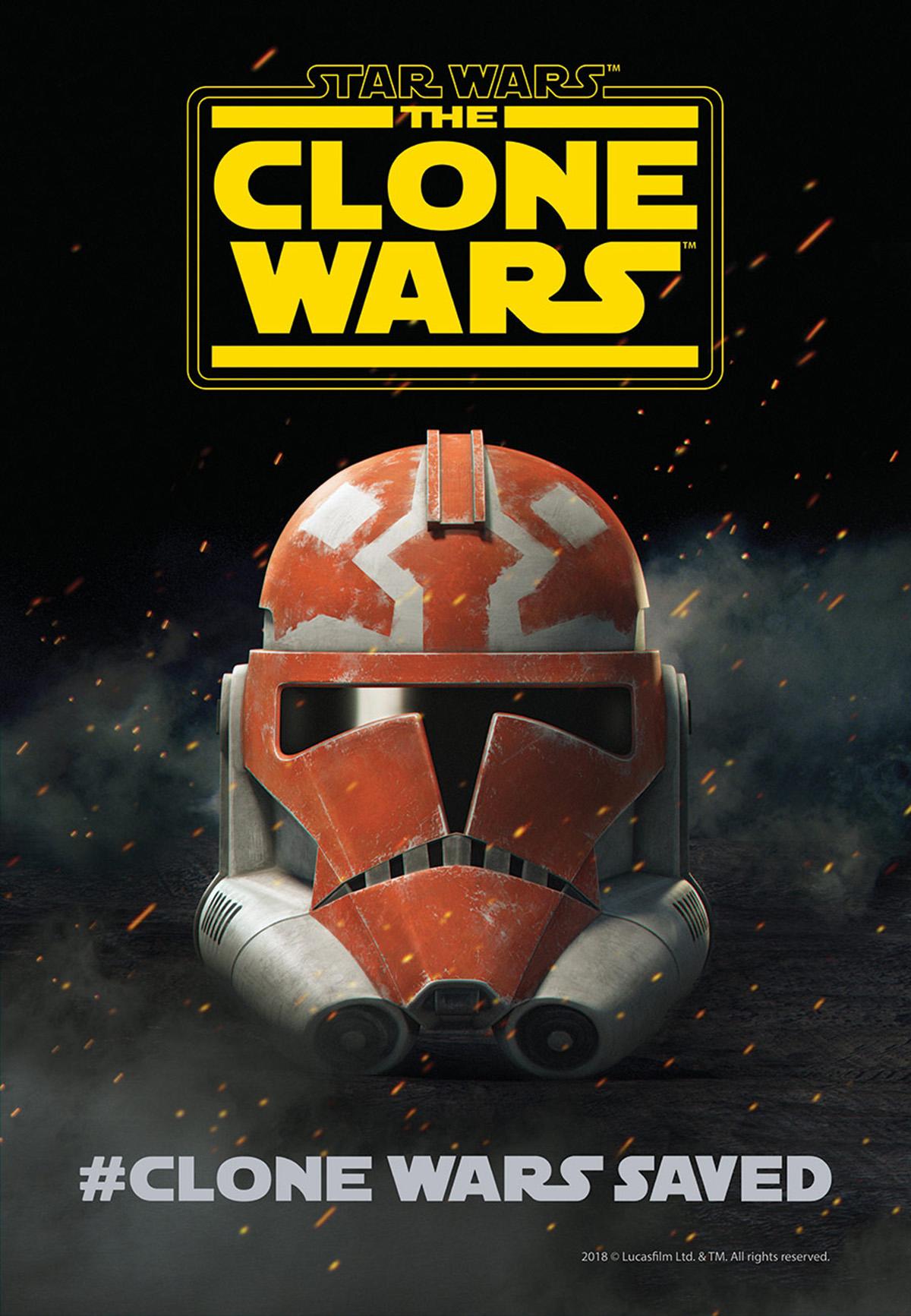 Star Wars: The Clone Wars, il poster del ritorno della serie