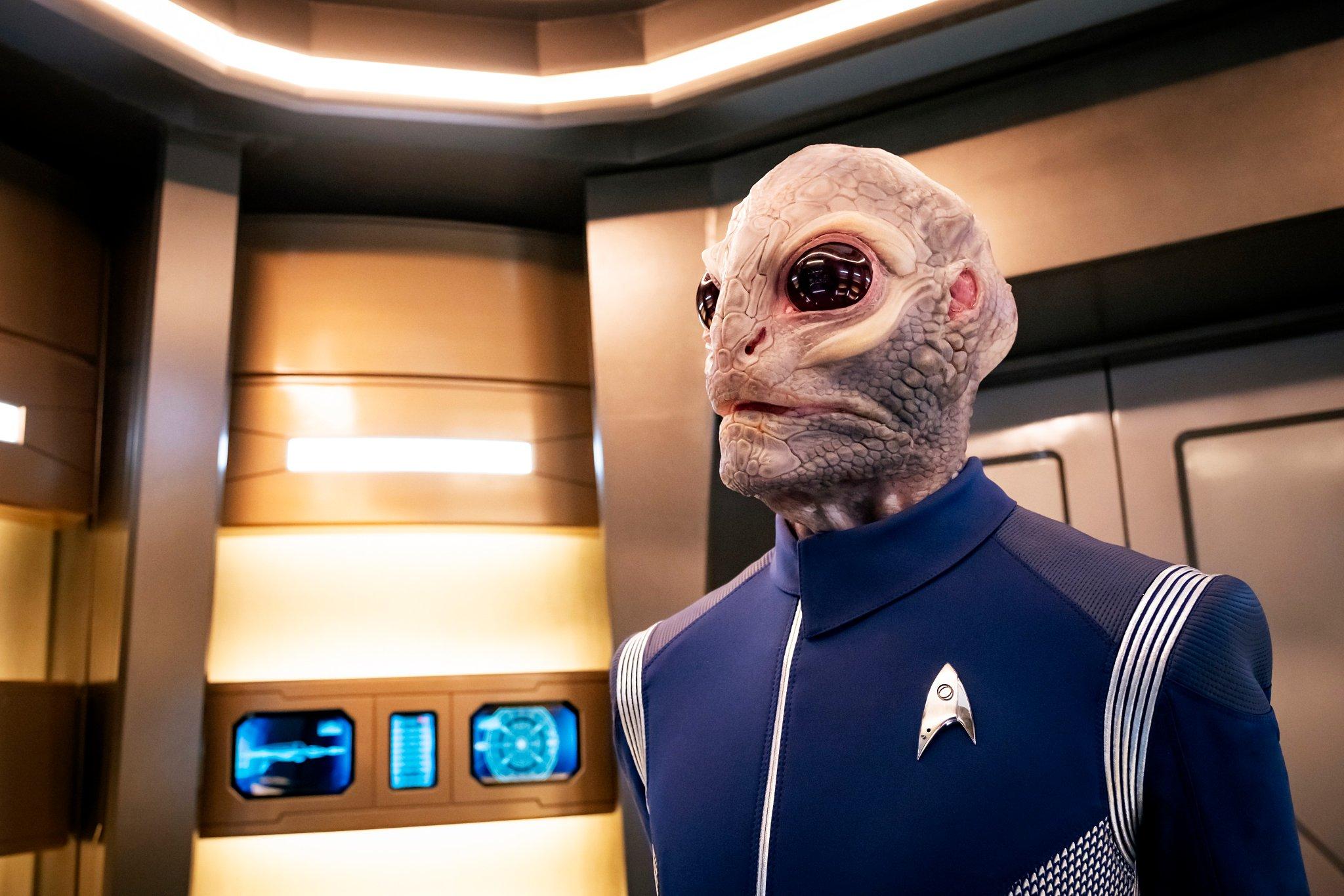 Star Trek: Discovery, Linus un alieno della seconda stagione