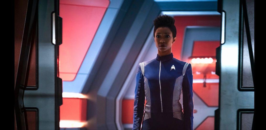 Star Trek: Discovery, Sonequa Martin in una scena della seconda stagione