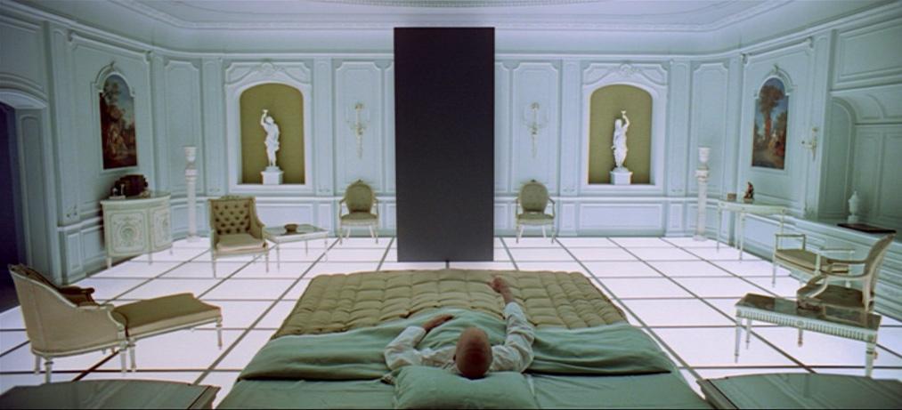 2001: Odissea nello spazio, una scena del film