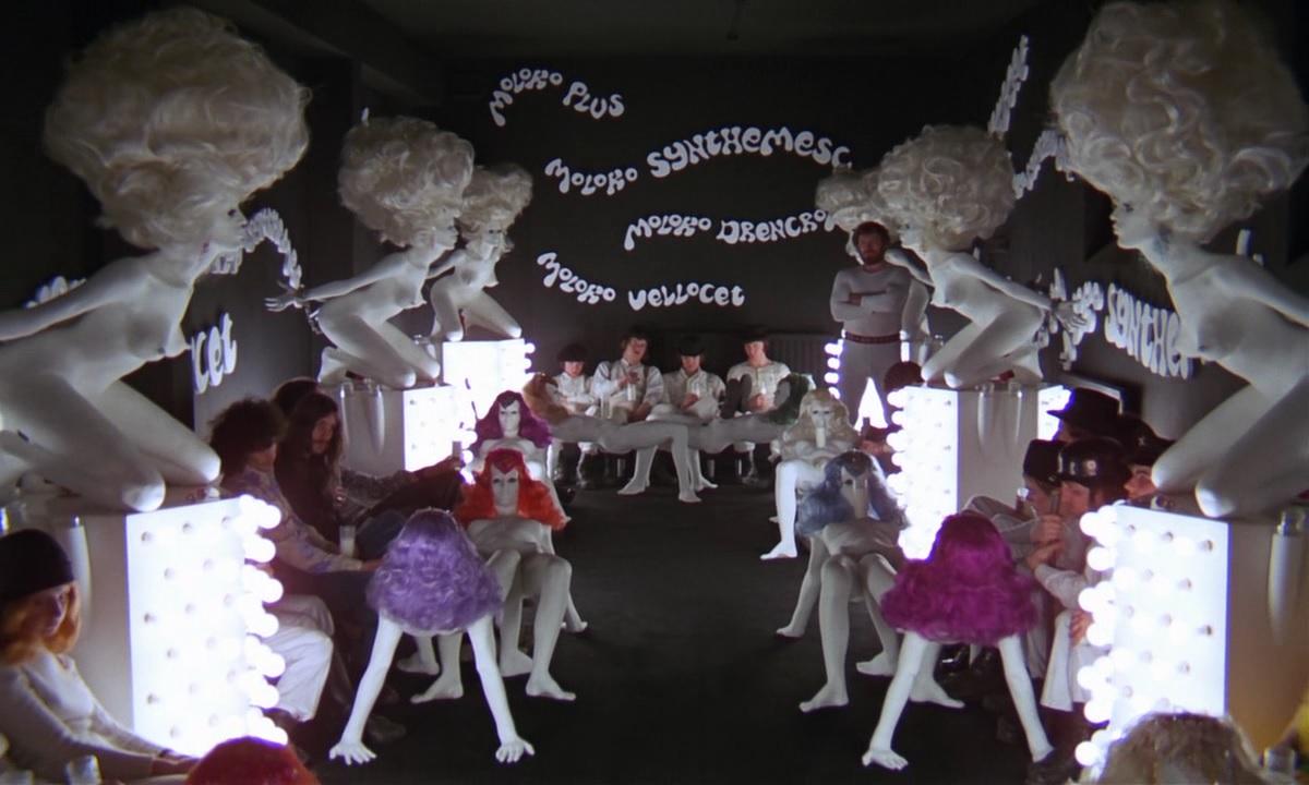 Arancia meccanica: una scena del film