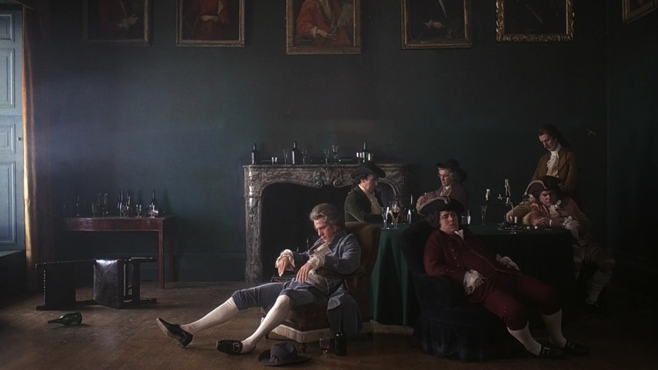 Barry Lyndon: una scena del film