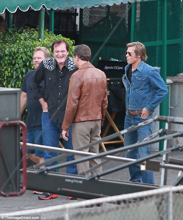 Once Upon A Time in Hollywood: Tarantino con Brad Pitt e Leonardo DiCaprio