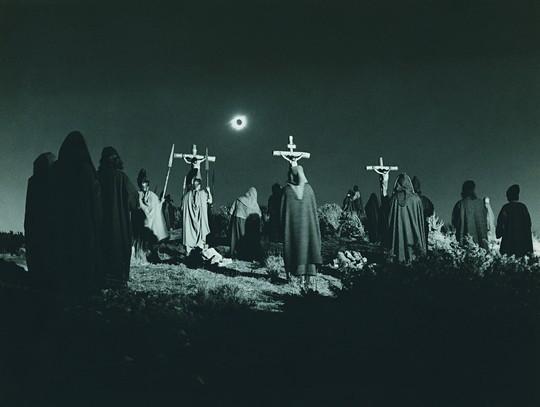 Barabba: la scena dell'eclissi nel film di Fleischer
