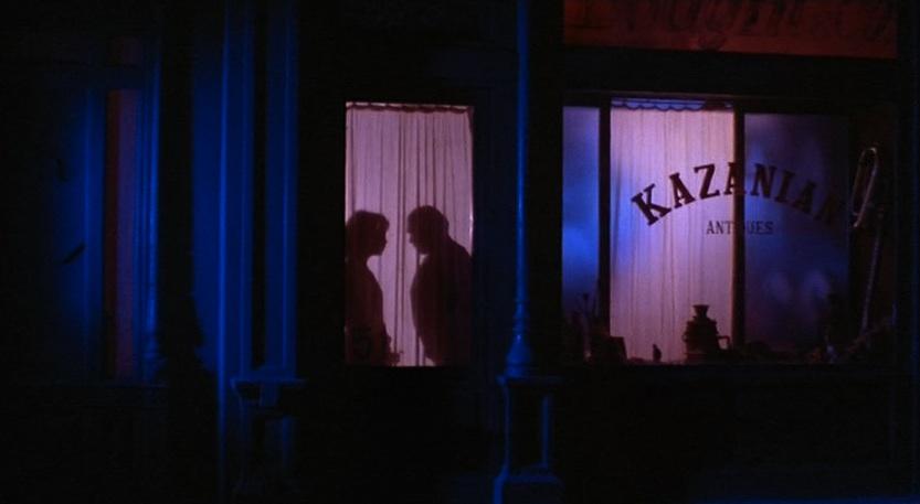 Inferno: il negozio di Kazanian in una scena del film di Dario Argento