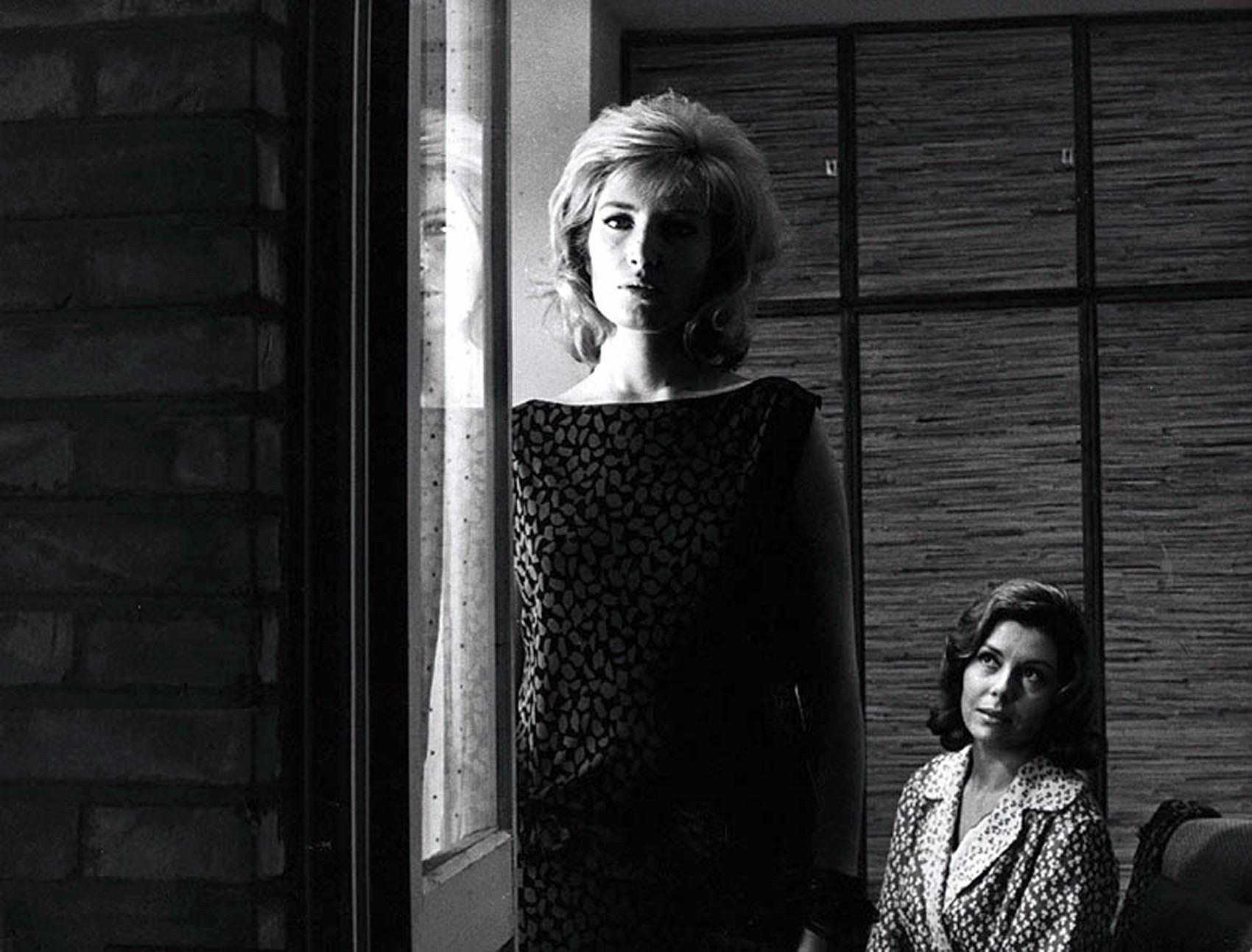 Monica Vitti ne L'Eclisse di Antonioni